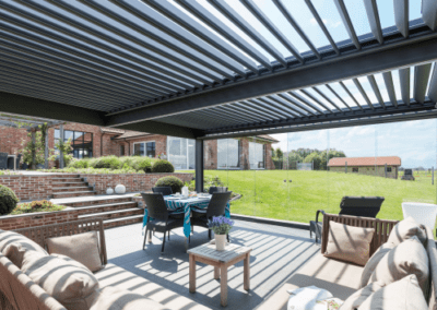Pergola bioclimatique 17 Naturenergie