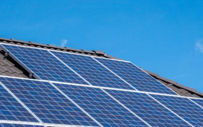Pose de panneaux photovoltaïques